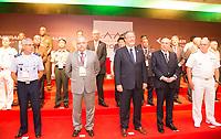RIO DE JANEIRO, RJ, 04.04.2017 - LAAD-ABERTURA - Autoridades de vários países participam da cerimônia de abertura da LAAD 2017, no Riocentro, Rio de Janeiro, nesta terça-feira, 04. (Foto: Clever Felix/Brazil Photo Press)