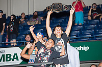 Children in the crowd cheer after WWE Champion Jinder Mahal lost his match against Randy Orton at a WWE Live Summerslam Heatwave Tour event at the MassMutual Center in Springfield, Massachusetts, USA, on Mon., Aug. 14, 2017. Mahal lost the match.