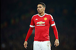 Chris Smalling of Manchester United during the UEFA Europa League match at Old Trafford. Photo credit should read: Philip Oldham/Sportimage