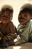Kabinga, Zambia. Two children.