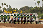 ARCADIA, CA  JUNE 16: The start of the Summertime Oaks (Grade ll) on June 16, 2018 at Santa Anita Park in Arcadia, CA. (Photo by Casey Phillips/Eclipse Sportswire/Getty Images)