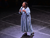 Brooklyn, NY - June 26, 2019: Actress/comedian Whoopi Goldberg hosts the opening ceremony for NYC World Pride at the Barclays Center in Brooklyn, New York June 26, 2019.  (Photo by Don Baxter/Media Images International)