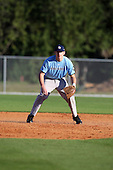 December 28, 2009:  Kyle Sant (14) of the Baseball Factory Tar Heels team during the Pirate City Baseball Camp & Tournament at Pirate City in Bradenton, Florida.  (Copyright Mike Janes Photography)