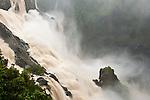 Barron Falls after Cyclone Yasi