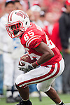 Wisconsin Badgers wide receiver David Gilreath (85) carries the ball during an NCAA college football game against the San Jose State Spartans on September 11, 2010 at Camp Randall Stadium in Madison, Wisconsin. The Badgers beat San Jose State 27-14. (Photo by David Stluka)