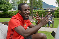 29.06.2016; Rottach-Egern; Fussball Super League - Training FC Basel; <br />Seydou Doumbia (Basel) <br />(Andy Mueller/freshfocus)