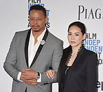 SANTA MONICA, CA - FEBRUARY 25: Actor Terrence Howard (L) and Miranda Pak attend the 2017 Film Independent Spirit Awards at the Santa Monica Pier on February 25, 2017 in Santa Monica, California.