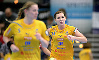 EHF Champions League Handball Damen / Frauen / Women - HC Leipzig HCL : SD Itxako Estella (spain) - Arena Leipzig - Gruppenphase Champions League - im Bild: Karolina Kudlacz . Porträt. Foto: Norman Rembarz .