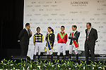 Hong Kong Jockey Club Race of the Riders, part of the Longines Masters of Hong Kong on 10 February 2017 at the Asia World Expo in Hong Kong, China. Photo by Juan Serrano / Power Sport Images