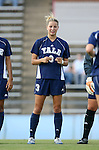 07 September 2007: Yale's Hayley Zevenbergen. The Duke University Blue Devils defeated the Yale University Bulldogs 1-0 at Fetzer Field in Chapel Hill, North Carolina in an NCAA Division I Women's Soccer game, and part of the annual Nike Carolina Classic tournament.