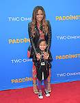 Christina Milian with her daughter attends The TWC- Dimension L.A. Premiere of Paddington held at The TCL Chinese Theater  in Hollywood, California on January 10,2015                                                                               © 2015 Hollywood Press Agency