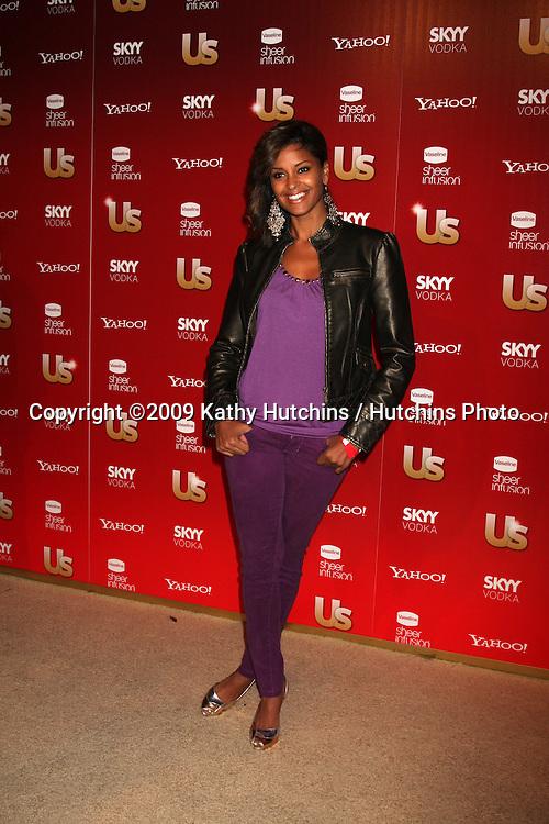 Claudia Jordan.arriving at the 2009 US Weekly Hot Hollywood Party.Voyeur.West Hiollywood,  CA.November 18, 2009.©2009 Kathy Hutchins / Hutchins Photo.