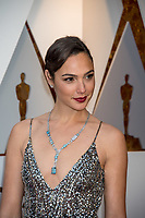 Gal Gadot arrives on the red carpet of The 90th Oscars&reg; at the Dolby&reg; Theatre in Hollywood, CA on Sunday, March 4, 2018.<br /> *Editorial Use Only*<br /> CAP/PLF/AMPAS<br /> Supplied by Capital Pictures