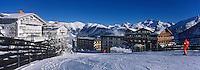 """Europe/France/Rhone-Alpes/73/Savoie/Courchevel: Courchevel 1850 les pistes et l'Hotel """"le Chabichou"""" """""""