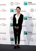 La regista giapponese Miwa Nishikawa posa durante un photo call per la presentazione del film &quot;The Long Excuse&quot; al Festival Internazionale del Film di Roma, 18 ottobre 2016.<br /> Japanese director Miwa Nishikawa poses during a photo call to present the movie &quot;The Long Excuse&quot; during the international Rome Film Festival at Rome's Auditorium,18 October 2016.<br /> UPDATE IMAGES PRESS/Isabella Bonotto