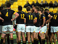 Action from the Transit Coachlines 1st XV Tournament rugby match between Wellington College and Palmerston North Boys' High School at Westpac Stadium in Wellington, New Zealand on Saturday, 20 May 2017. Photo: Dave Lintott / lintottphoto.co.nz