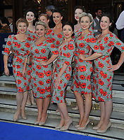 The D-Day Darlings at the &quot;The King and I&quot; play press night, The London Palladium, Argyll Street, London, England, UK, on Tuesday 03 July 2018.<br /> CAP/CAN<br /> &copy;CAN/Capital Pictures