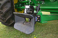 Rockinger hitch fitted to a John Deere combine