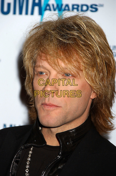 JON BON JOVI.40th Annual CMA Awards held at Gaylord Entertainment Center, Nashville, Tennessee, USA..November 6th, 2006.Ref: ADM/LF.headshot portrait.www.capitalpictures.com.sales@capitalpictures.com.©Laura Farr/AdMedia/Capital Pictures.