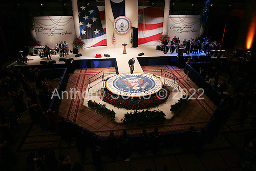 WASHINGTON DC - JANUARY 20: The Commander and Chief inaugural ball January 20, 2005 in Washington DC. (photo by Anthony Suau)