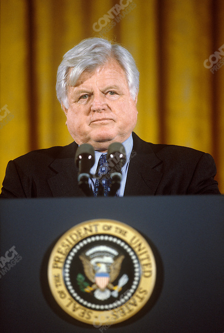 Senator Edward (Ted) Kennedy (D-MA), at the Disabilities Act event held at the White House. Washington, D.C., January 1999