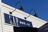 A Gap Outlet store is pictured at Lee Premium Outlets in Lee (MA), Tuesday October 1, 2013.