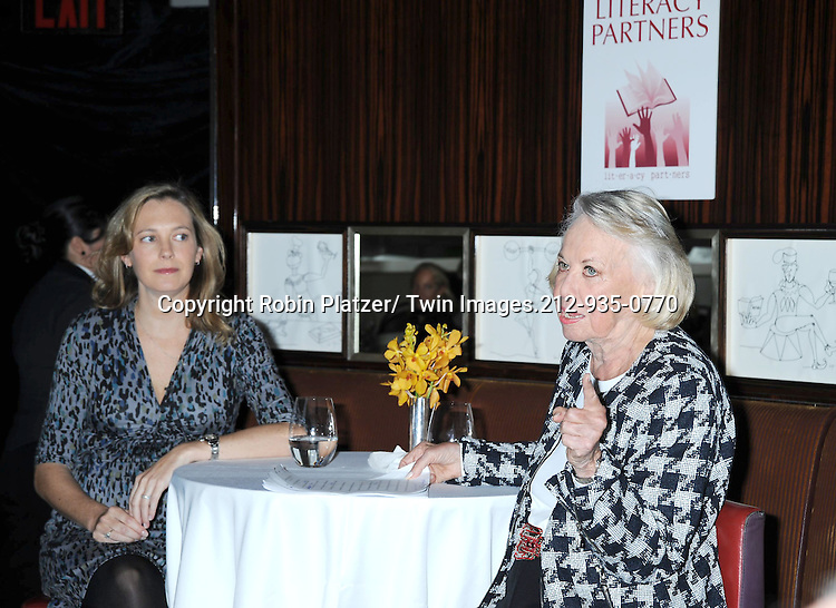 Lauren Weisberger attending The Literacy Partners Food For Thought Luncheon Series on October 5, 2010 at Le Cirque in New York City. Lauren Weisberger was interviewed by Liz Smith..Photo by Robin Platzer/Twin Images
