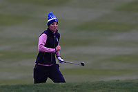 Anne Van Dam of Team Europe on the 18th during Day 2 Fourball at the Solheim Cup 2019, Gleneagles Golf CLub, Auchterarder, Perthshire, Scotland. 14/09/2019.<br /> Picture Thos Caffrey / Golffile.ie<br /> <br /> All photo usage must carry mandatory copyright credit (© Golffile | Thos Caffrey)