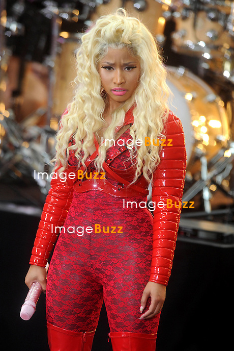 Nicki Minaj performs on The Today Show, in New York City..New York, August 14, 2012.