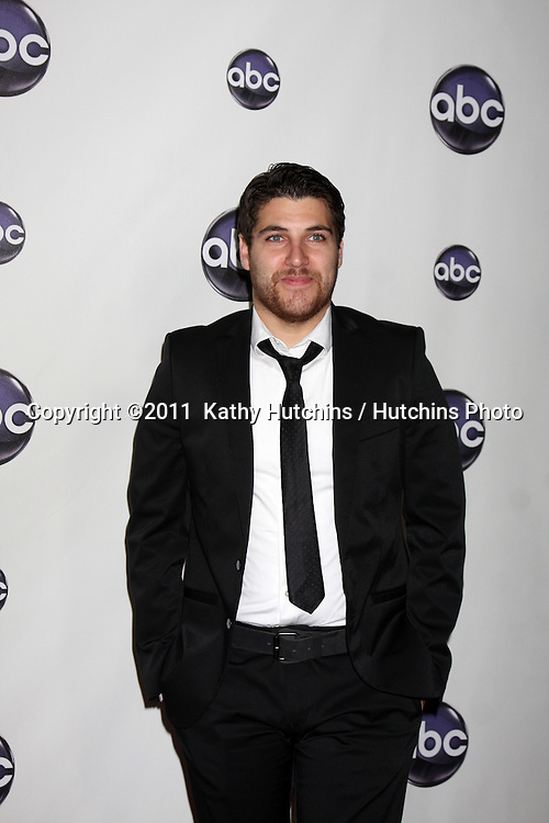 LOS ANGELES - JAN 10:  Adam Pally arrives at the Disney ABC Television Group's TCA Winter 2011 Press Tour Party at Langham Huntington Hotel on January 10, 2011 in Pasadena, CA