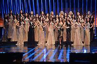 SAO PAULO, SP, 18.11.2015 - MISS-BRASIL - Candidatas durante apresentação Miss Brasil 2015 no Citibank Hall em São Paulo nesta quarta-feira, 18. (Foto: Levi Bianco/Brazil Photo Press)