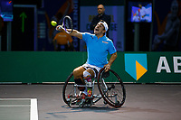 Rotterdam, The Netherlands, 11 Februari 2020, ABNAMRO World Tennis Tournament, Ahoy, <br /> Wheelchair tennis: Martin De La Puente (ESP).<br /> Photo: www.tennisimages.com