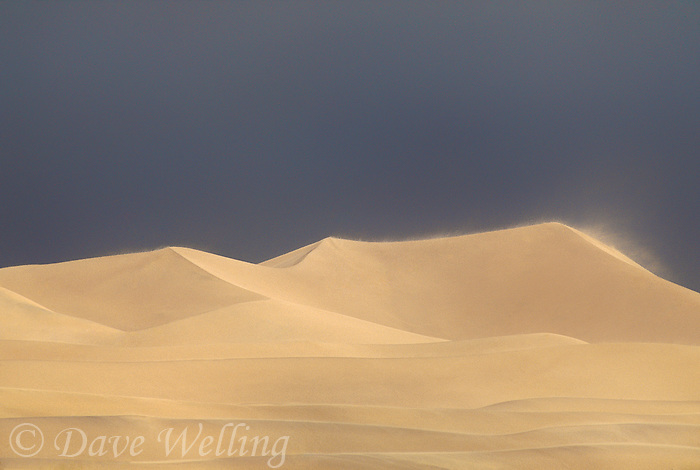 739650078 wind driven storm whips up the dunes in mesquite sand dunes in death valley national park california