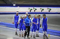 SCHAATSEN: HEERENVEEN: IJsstadion Thialf, 03-06-2013, training merkenteams op zomerijs, Team Project 2018, ©foto Martin de Jong
