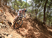 7th September 2017, Smithfield Forest, Cairns, Australia; UCI Mountain Bike World Championships; Loic Bruni (FRA) from  SPECIALIZED GRAVITY during downhill practice