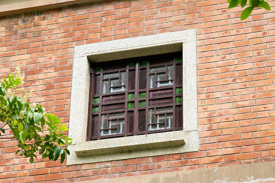 First floor window.