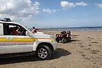 Drogheda Coast Guard beach patrol.Picture Fran Caffrey/www.newsfile.ie.