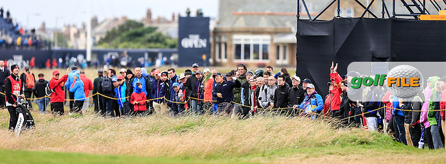 Beyond Hun An (KOR) during round 3 at The 145th Open Championship, Royal Troon golf club, Troon, Ayrshire, Scotland. 16/07/2016<br /> Picture Fran Caffrey / Golffile.ie<br /> <br /> All photo usage must carry mandatory copyright credit (&copy; Golffile | Fran Caffrey)
