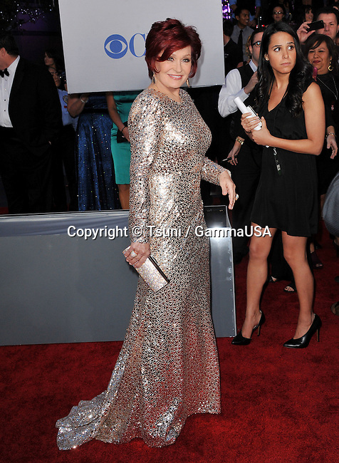 Sharon Osbourne   at The People S Choice Awards 2012 at the Nokia Theatre in Los Angeles.