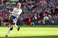 Christian Eriksen of Tottenham Hotspur during Tottenham Hotspur vs Liverpool, Premier League Football at Wembley Stadium on 15th September 2018