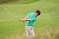 Sean Doyle (Athlone) on the 13th during Round 3 of The South of Ireland in Lahinch Golf Club on Monday 28th July 2014.<br /> Picture:  Thos Caffrey / www.golffile.ie