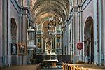Barokowy kości&oacute;ł parafialny Świętej Tr&oacute;jcy - wnętrze, Tykocin, Polska<br /> Church of the Holy Trinity - inside, Tykocin, Poland