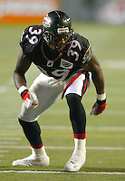 Gerald Vaughn Ottawa Renegades 2004. Photo Scott Grant