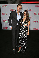 "9 August 2018-  Westwood, California - Kristy Dawn Dinsmore, Alexander Ludwig. Premiere Of STX Films' ""Mile 22"" held at The Regency Village Theatre. Photo Credit: Faye Sadou/AdMedia"