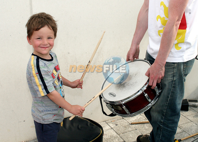 Leon Noble at the Launch of the Samba Festival in the D Hotel...Photo NEWSFILE/Jenny Matthews.(Photo credit should read Jenny Matthews/NEWSFILE)....This Picture has been sent you under the condtions enclosed by:.Newsfile Ltd..The Studio,.Millmount Abbey,.Drogheda,.Co Meath..Ireland..Tel: +353(0)41-9871240.Fax: +353(0)41-9871260.GSM: +353(0)86-2500958.email: pictures@newsfile.ie.www.newsfile.ie.FTP: 193.120.102.198.