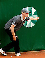 16-8-09, Den Bosch,Nationale Tennis Kampioenschappen, Finale mannen, Scheidsrechter