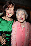 Haydn Gwynne & Celeste Holm.attending the 65th Annual Theatre World Awards held at the MTC's Samuel J. Friedman Theatre in New York City. The Theatre World Award celebrates the oldest Award given for Broadway and Off-Broadway Debuts..June 2, 2009.