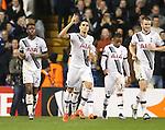 Tottenham's Erik Lamela celebrates scoring his third goal<br /> <br /> UEFA Europa League - Tottenham Hotspur v Monaco - White Hart Lane - England -10th December 2015 - Picture David Klein/Sportimage