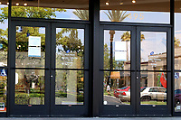 LOS ANGELES - APR 11:  Lazboy Store, lights on, store closed at the Businesses Closed temporarily due to COVID-19 at the Hospitality Lane on April 11, 2020 in San Bernardino, CA