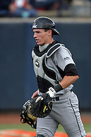 February 21 2010: Kellen Hoime of Cal. St. Long Beach during game against Cal. St. Fullerton at Goodwin Field in Fullerton,CA.  Photo by Larry Goren/Four Seam Images